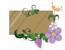 Free Frame. Floral Garden Stock Photos - 9959093