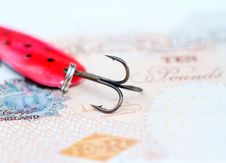 Free UK Debt Royalty Free Stock Image - 9959436