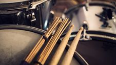 Free Drums Royalty Free Stock Image - 99545756