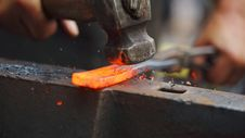 Free Forging Hot Iron Stock Photo - 99545810
