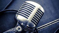 Free Microphones Luca Sapio Royalty Free Stock Image - 99545836