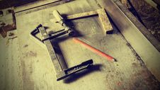 Free Old Traditional Carpenters Tools Retro Vintage Style Royalty Free Stock Image - 99545906