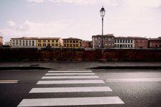 Free CROSSWALK IN PISA Royalty Free Stock Photography - 99545967