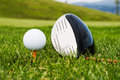 Free Ball Golf Club To Launch More Stock Image - 9968941