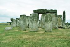 Free Stonehenge Royalty Free Stock Photo - 9960355