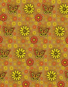 Free Floral Pattern Stock Photos - 9960663