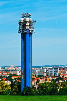 Free Water Tower In Prague, Czech Republic Stock Photography - 9963582
