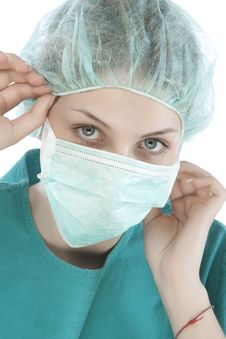 Free Female Doctor Stock Photography - 9964242