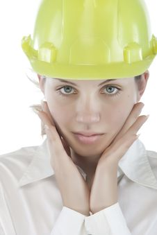 Free Attractive Young Engineer Stock Images - 9964694