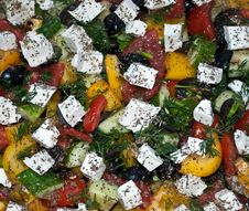 Free Greek Salad 3 Stock Photo - 9964890