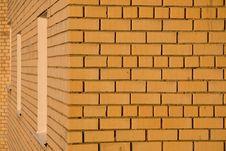 Yellow Brick Wall Royalty Free Stock Images