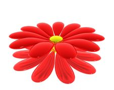 Free Red Flower Stock Image - 9966081