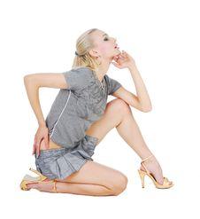 Free Beautiful Blond Woman Royalty Free Stock Photo - 9966105