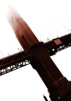 Free Golden Gate Bridge Royalty Free Stock Photos - 9966298