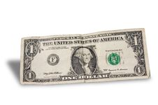 Free Falling Dollar Front Stock Photography - 9966702