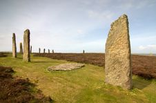 Free Ring Of Brodgar Stock Photo - 9966870