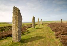 Free Ring Of Brodgar Stock Image - 9966911