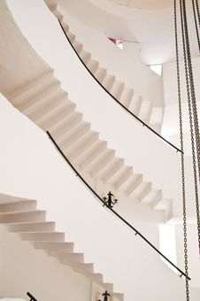 Free Spiral Staircase Royalty Free Stock Image - 9967776