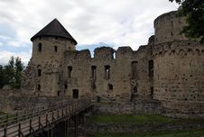 Free Ancient Castle. Stock Image - 9968301