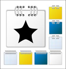 Notebook Page Royalty Free Stock Image