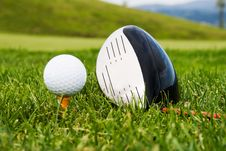 Ball Golf Club To Launch More Stock Image