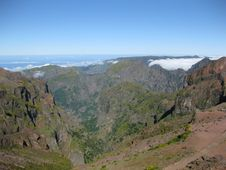 Above The Clouds In Madeira Royalty Free Stock Photos