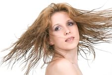Free Flying Hair Royalty Free Stock Images - 9969469