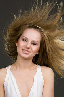 Free Flying Hair Royalty Free Stock Photos - 9969508