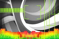 Digital Sound Royalty Free Stock Photography
