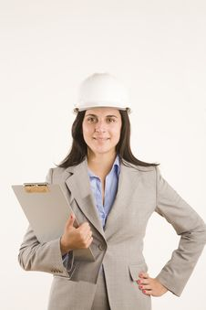 Free Construction Women Royalty Free Stock Image - 9969936
