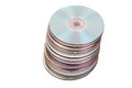 Free Stack Of Compact Discs Royalty Free Stock Photography - 9974407
