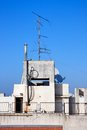Free Old Television Aerial On House Royalty Free Stock Photo - 9975495