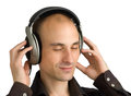 Free Man Enjoying Music Stock Photos - 9975703