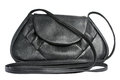 Free Female Bag From A Genuine Leather Of Black Colour Stock Photos - 9976253