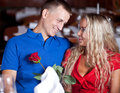Free The Man And Fine Girl Royalty Free Stock Photo - 9978145