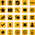 Free Vector Icons Set Stock Image - 9979311