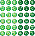 Free Vector Icons Set Royalty Free Stock Photography - 9979447
