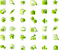 Free Vector Icons Set Stock Images - 9979494