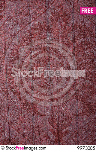 Free Red Vintage Floral Texture Royalty Free Stock Photo - 9973085