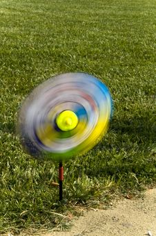 A Swirl In The Lawn Stock Photos