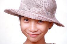 Free Smiling Girl Stock Image - 9971161