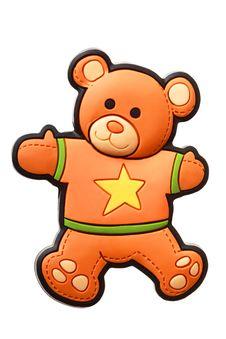 Free Little Bear Fridge Magnet Royalty Free Stock Photo - 9972075