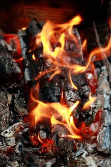 Free Home Fireplace Stock Photo - 9972390