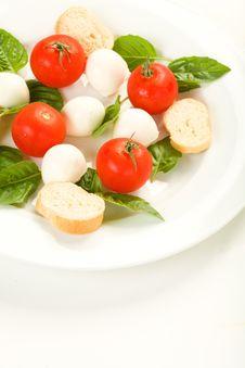 Free Caprese Salad Stock Photo - 9972880