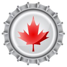 Free Bottle Cap Flag Royalty Free Stock Images - 9973149