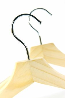 Free Coat Hangers Royalty Free Stock Images - 9973409