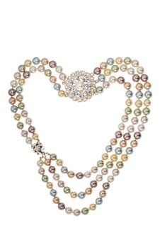 Free Frame Of Necklace Heart Shape Stock Photos - 9973943