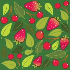 Free Fruit Pattern Stock Image - 9974901