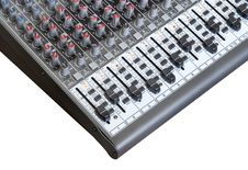 Free Sound Mixer Board Stock Photo - 9975440