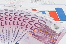Free Chart With A Money Stock Image - 9975841